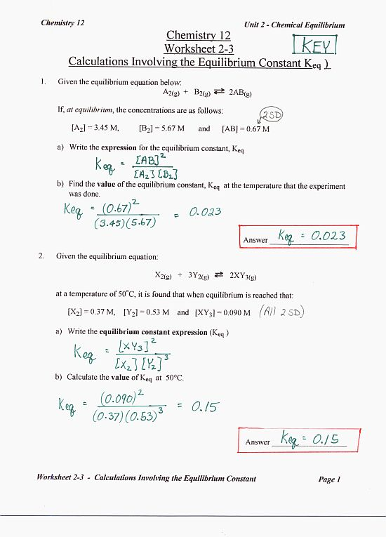 dynamic equilibrium pogil answers 28 images chemistry gabe the – Chemistry Unit 5 Worksheet 2 Answer Key