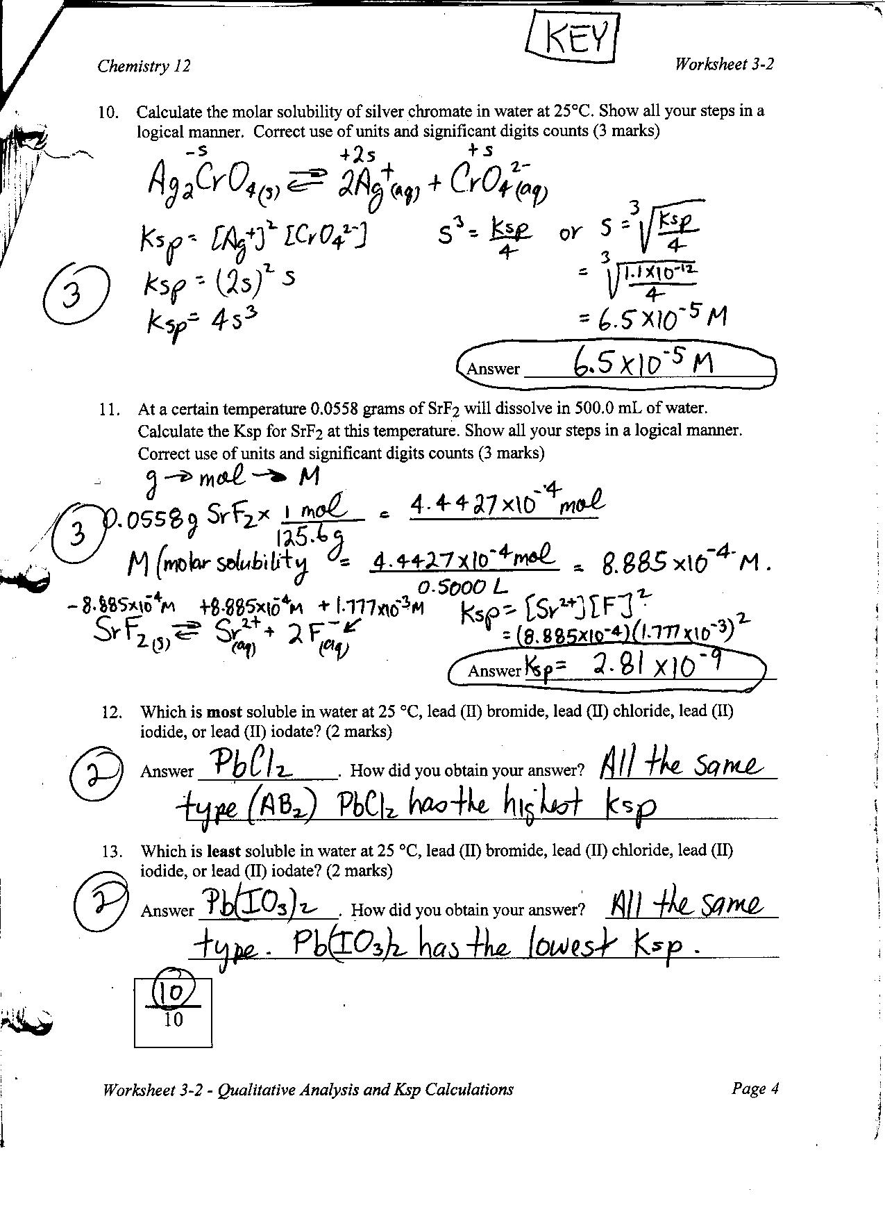 Chemistry 12 Mr Nguyens Website – Molarity Calculations Worksheet